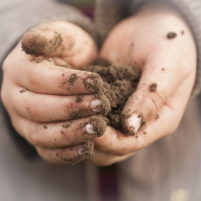 Dirt under your fingernails